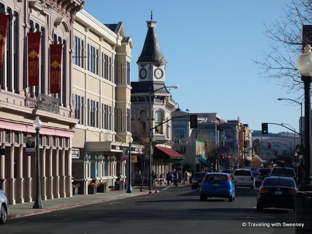 """First Street, Downtown Napa, California"""
