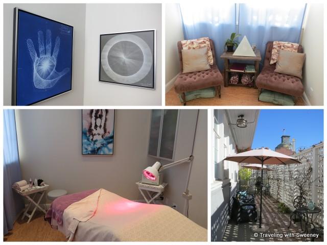 """""""Rooms and outdoor patio at The Spa at Napa River Inn"""""""""""