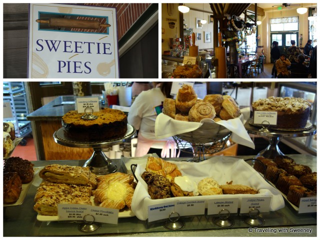"""Sweetie Pies Bakery in the Historic Napa Mill, Napa, California"""