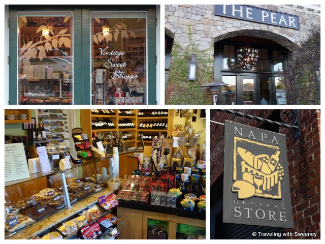 """Vintage Sweet Shoppe, The Pear and Napa General Store"""