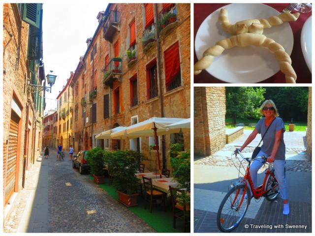 """""""On the bike in Ferrara, Jewish Quarter, coppia ferrarese"""""""