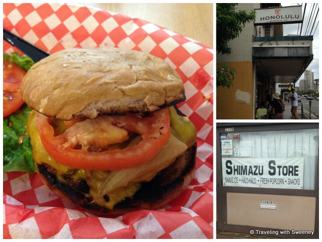 """Honolulu Burger Company and Shimazu Store"""