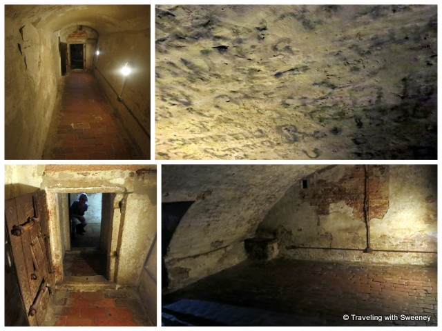 """Dungeon of Castello Estense in Ferrara, Italy"""