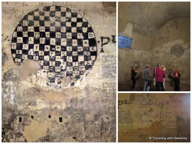 """""""Don Giulio's cell in Castello Estense, Ferrara, Italy"""""""