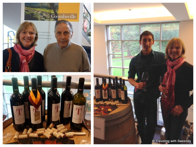 """""""Emil Tedeschi, Emilio Tedeschi, and 2006 Cabernet Sauvignon at CabFest Napa Valley 2014"""""""