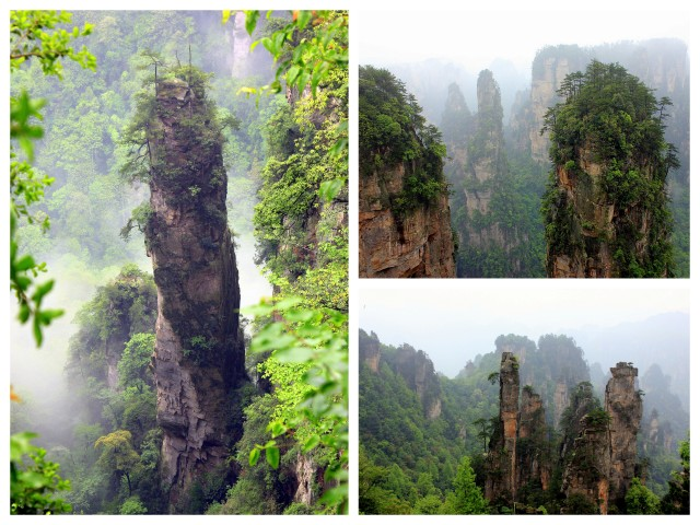 """Zhangjiajie National Forest Park, China"""