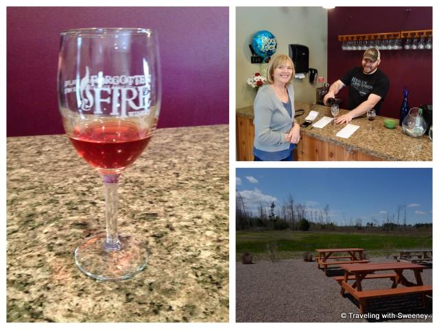 """Forgotten Fire Winery, Peshtigo, Wisconsin"""