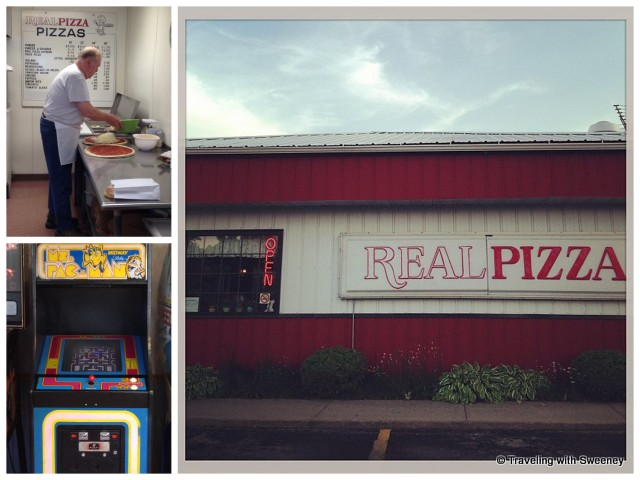 """Real Pizza in Marinette, Wisconsin"""