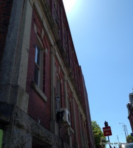 """Getting a sense of déjà vu from a 19th century building on Sackville Street in Halifax, Nova Scotia"""