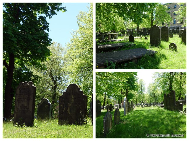 """Old Burying Groundin Halifax, Nova Scotia"""