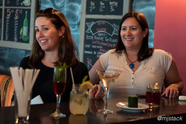"""Taste of Nova Scotia hosts, Emily Haynes and Christine White at 2 Doors Down in Halifax, Nova Scotia"""