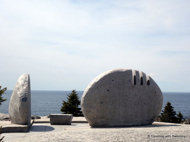 """Swiss Air Flight 111 Memorial, Peggy's Cove, Nova Scotia"""
