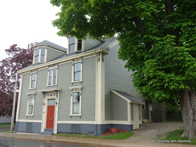 """49 Cornwallis Street, Finck Holder House, Lunenburg, Nova Scotia"""