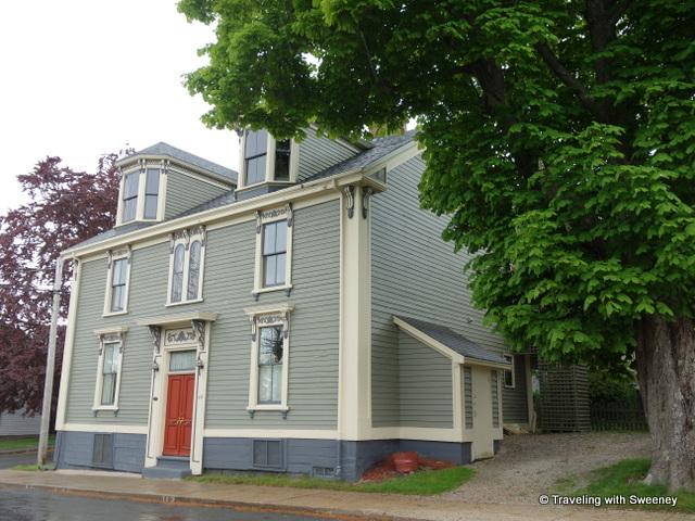 """49 Cornwallis Street, Finck Holder House, Lunenburg, Nova Scotia"""