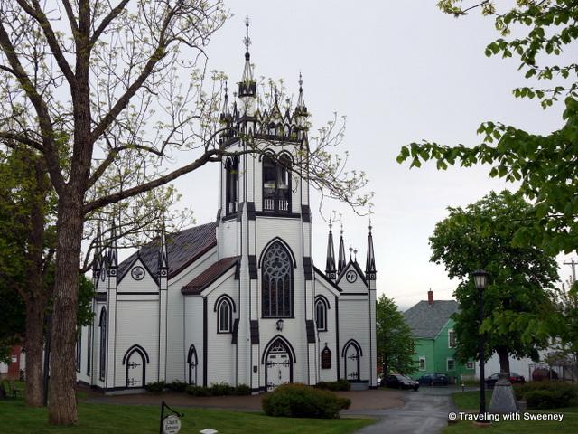 """""""St. John Anglican Church, Lunenburg, Nova Scotia"""""""