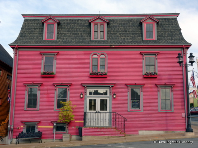 """Cranberry Suites at Mariner King Inn in Lunenburg, Nova Scotia"""