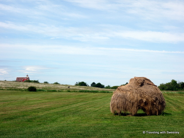 """Landscape of Grand Pré UNESCO World Heritage Site, Nova Scotia"""