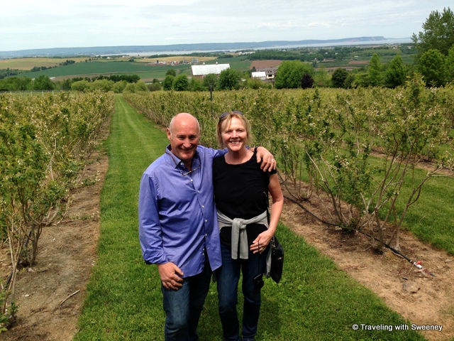 """In the vineyards at Luckett Vineyards with Pete Luckett"""