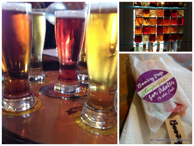 """Beers at The Port Pub and jars and boozy pop at Tangled Garden"""
