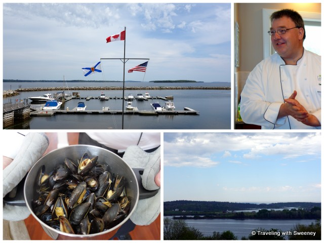 """Chef Konrad at Atlantica Hotel & Marine Oak Island, Western Shore, Nova Scotia"""