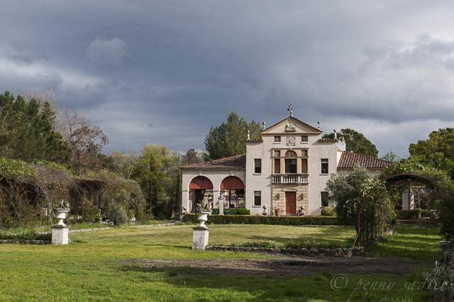 """""""Villa Ca ' Toga, Calistoga, California"""""""