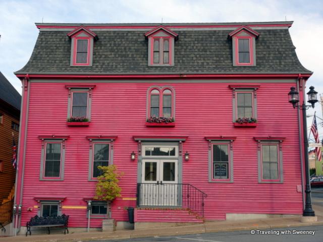 """Cranberry Suites addition of the Mariner King Inn in Lunenburg, Nova Scotia"""