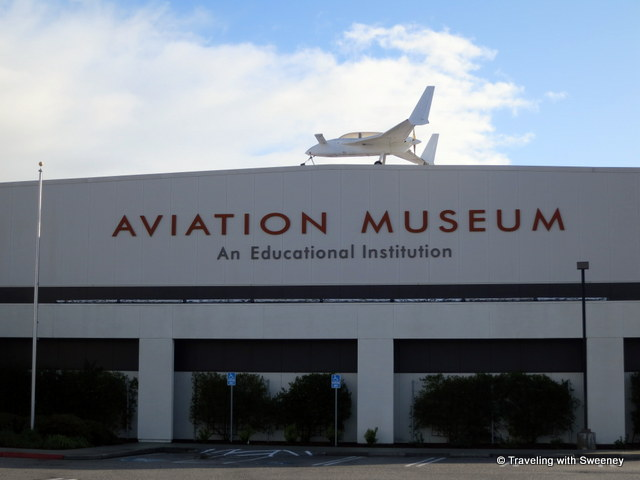 """Hiller Aviation Museum in San Carlos, California"""