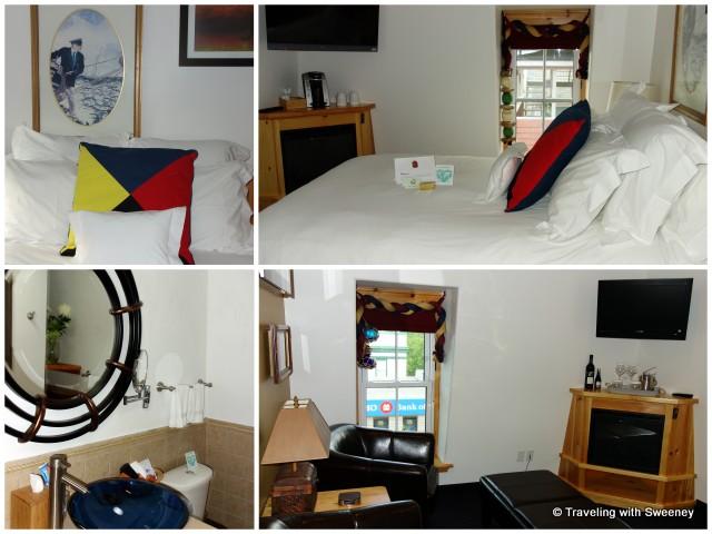 """Top floor suite in Cranberry Suites addition of Mariner King Inn, Lunenburg"""