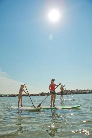 """Paddleboarding in Panama City Beach, Florida"""