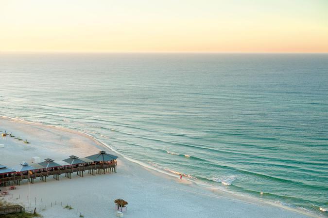 """Panama City Beach on the Gulf Coast of Florida"""