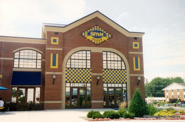 """SPAM Museum in Austin Minnesota, home to Hormel Food headquarters"""