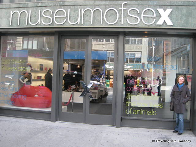 """Museum of Sex in New York City"""