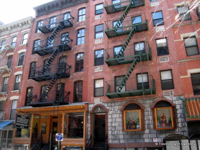 """Tenement Museum on New York's Lower East Side"""