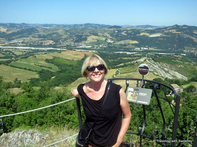"""""""Overlooking the Valmarecchia near San Leo"""""""