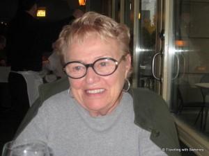 """Former TWA air hostess, Vi Ward in Chicago"""