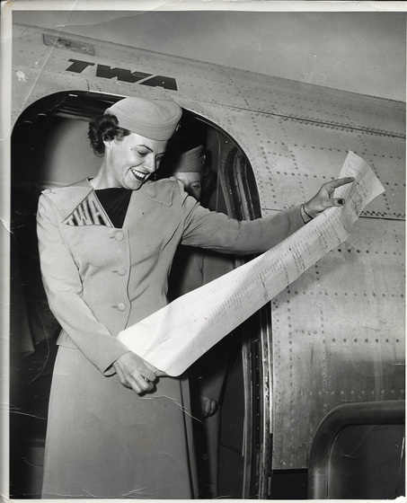 Traveling with Another Sweeney: A TWA Air Hostess