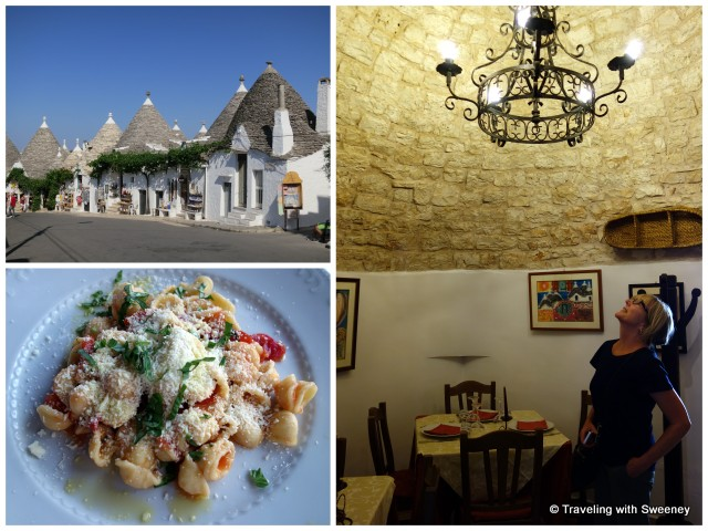 """Shopping and dining in Alberobello on a Puglia road trip"""
