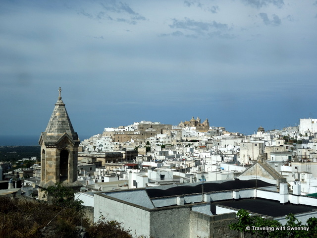 """White buildings of Ostuni, the White City, Puglia"""