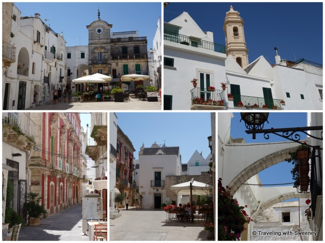 """Walking around Locorotondo, Cisternino, and Martina Franca, Puglia"""