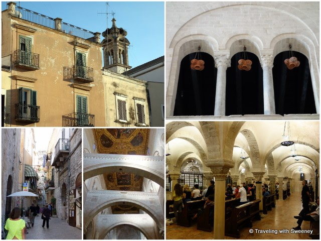 """Old Town Bari and the Basilica di San Nicola"""