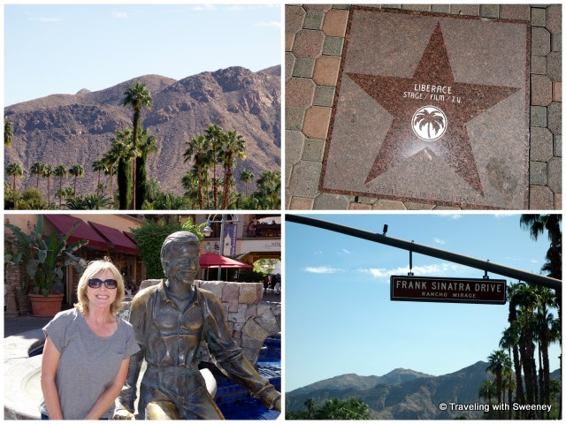 """Palm trees and celebrity tributes aplenty in Palm Springs, California"""