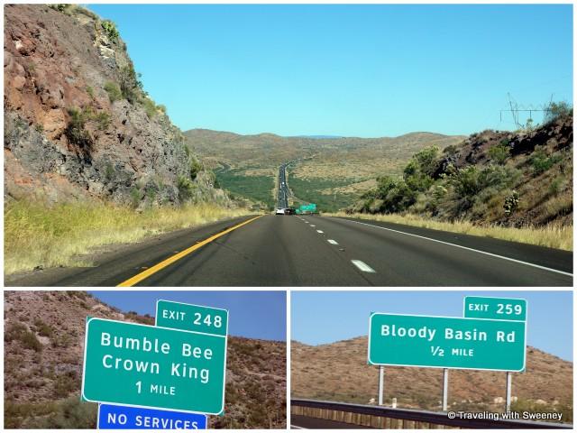 """Phoenix to Flagstaff on Highway 17 North"""