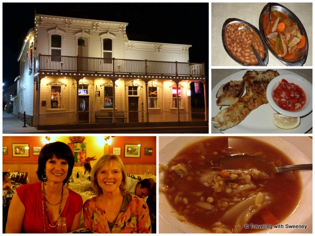 """""""Basque cuisine at JT Basque in Gardnerville, Nevada with owner Mariie Louise Lekumberry"""""""