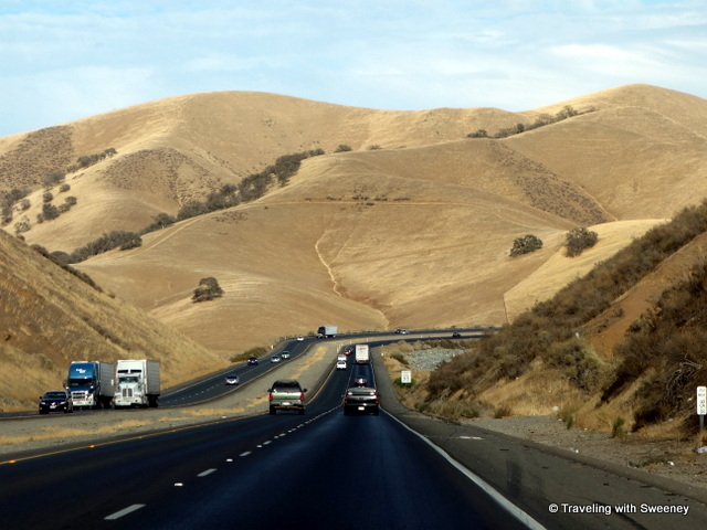"""On California Highway 152 between Gilroy and Interstate 5"""