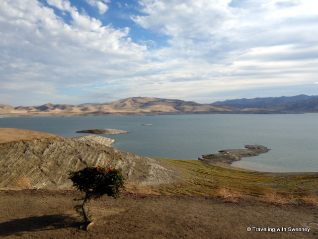"""San Luis Reservoir at the Romero Visitor Center between on CA 152"""