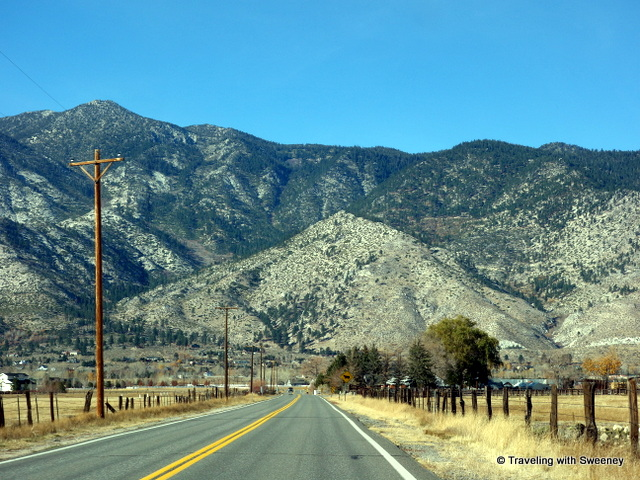 """Heading west out of Carson Valley to South Lake Tahoe -- just over the mountain"""