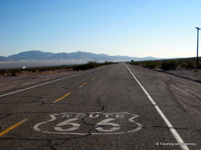 """Historic Route 66, Ludlow, California:"