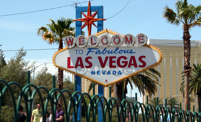 """Welcome to Fabulous Las Vegas sign"""