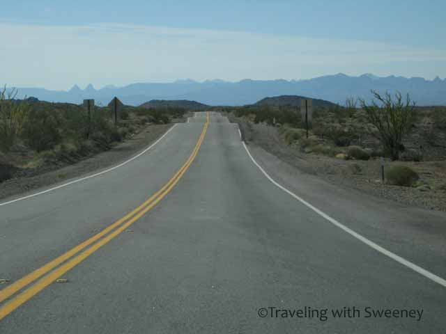 """Highway CA 95 between Needles, California and Parker, Arizona"""