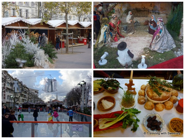 """Aubagne: Christmas market, ice rink, nativity scene and display of traditional Christmas Eve meal"""